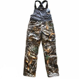 Under Armour Womens Fitted Hunting Bibs Size Small